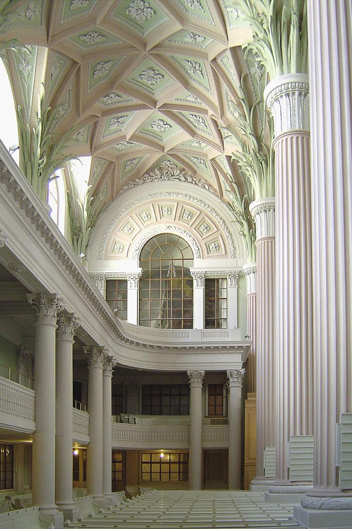 Restaurierung der Nikolaikirche Leipzig mit Kreidezeit Naturfarben