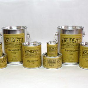 Standoelfarbe Gold-Silber