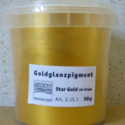 Goldglanzpigment