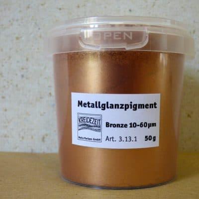 Metallglanzpigment bronze