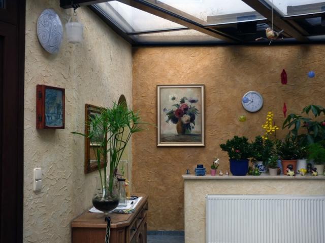 Wintergarten mit Gekkko-SOL Lasur 2