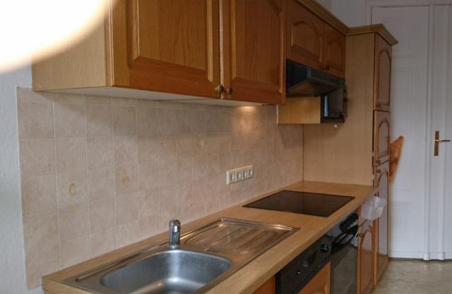Küche Fliesenspiegel vorher