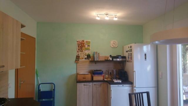 Küche mit Kalkglätte 2