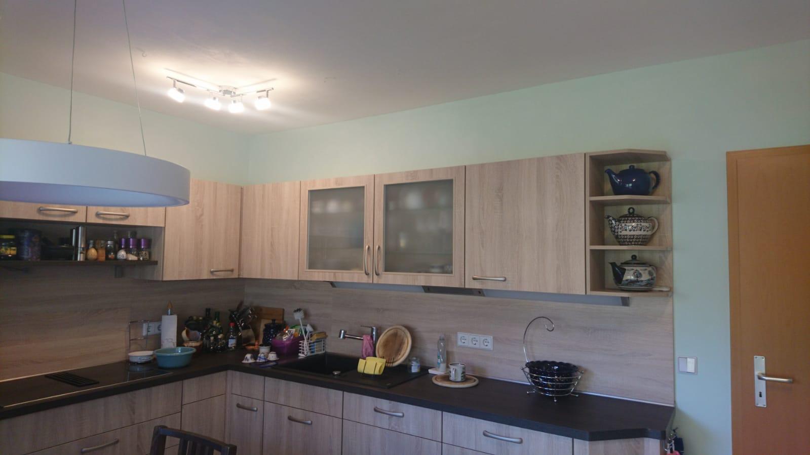 Küche mit Kalkglätte