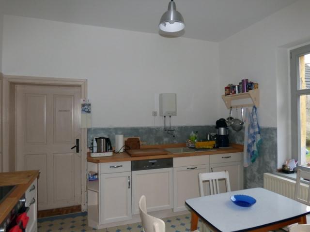 Küche Bauernhaus mit Sumpfkalkfarbe und Stucco-fein 2