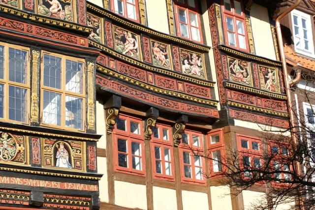 Wernersches Haus Restaurierung mit Standölfarbe