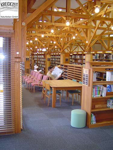 Ozun City Bibliothek Japan