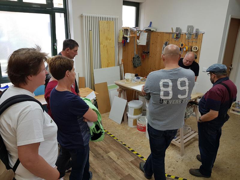 Workshop Spachteltechniken mit Kalkglätte