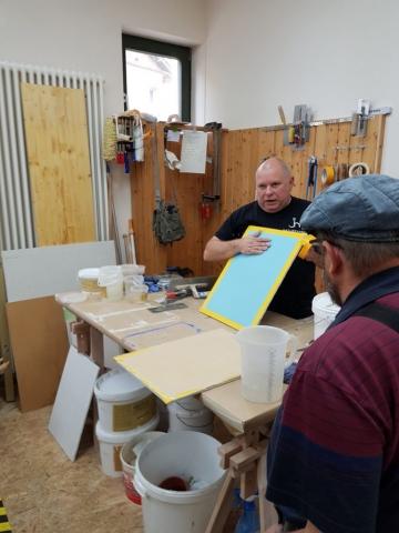 Workshop Spachteltechniken mit Kalkglätte 2